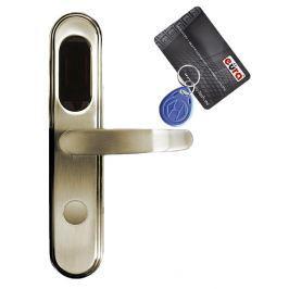 KLAMKA EURA ELH-20B9/BRASS Z CZYT. KART RFID MOSIĄDZ - Szybka dostawa lub możliwość odbioru w 39 miastach